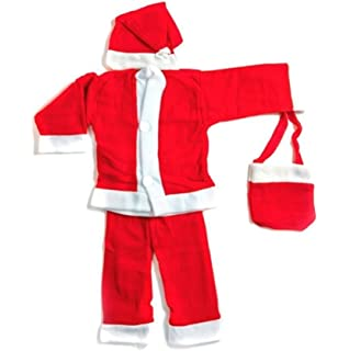 toyshine christmas dress for children size no 0 for ages 0 to 6 months - Santa Claus For Kids