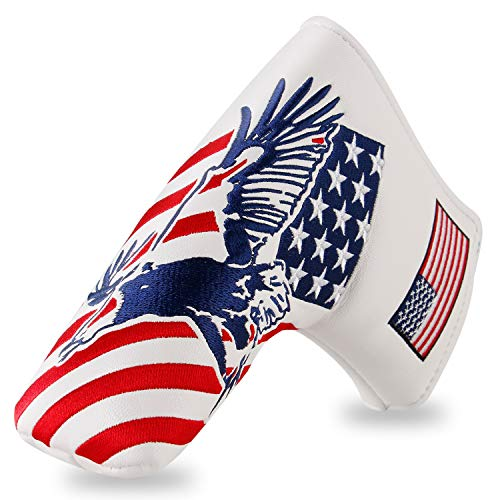 Montela Golf USA Eagle Magnetic Blade Putter Cover for Scotty Cameron Taylormade Odyssey …