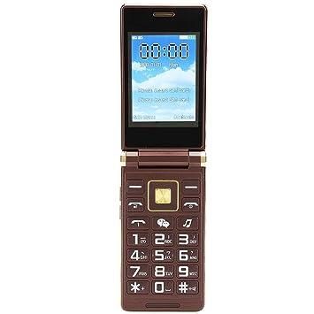 Flip Teléfono móvil Pantalla táctil de 3,0 pulgadas Tarjeta ...