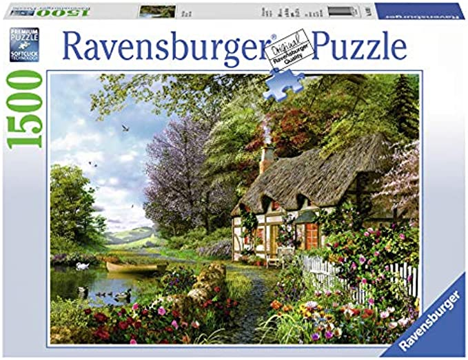Ravensburger Country Cottage 1500 Piece Jigsaw Puzzle for Adults