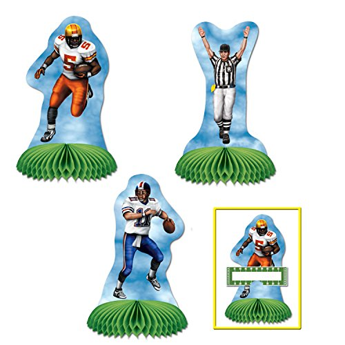 Football Playmates (3 place cards included)