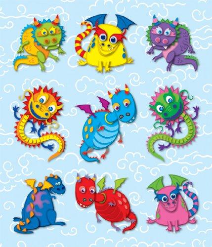 Carson Dellosa Dragons Prize Pack Stickers (168040) -