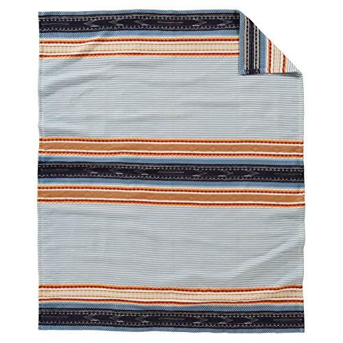 Pendleton Escalante Organic Cotton Bed Blanket (Denim, Throw - 60