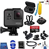 Gopro Hero 5 Black 14 Piece On The Move Bundle Includes: Go Pro Hero5 Black + Case + Floaty Bobber + Chest Strap + Wrist Mount + More