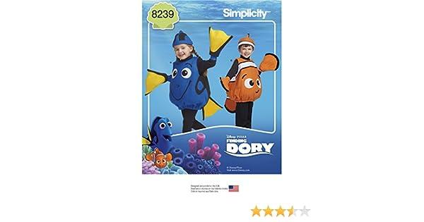 Simplicity Pattern 8239 - Disfraz para niños pequeños de Buscando ...