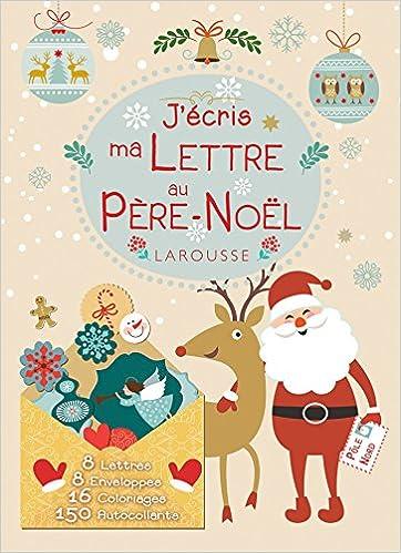 Liste Pere Noel J'ÉCRIS MA LETTRE AU PÈRE NOËL: Amazon.ca: COLLECTIF: Books