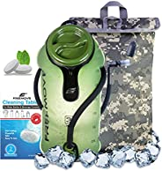 FREEMOVE 2L / 3L Hydration Bladder and Cooler Bag >Keeps Drink Cool & Protects Bladder< Leak Proof W