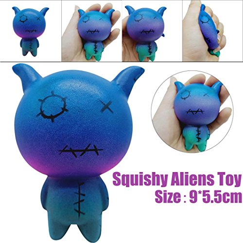 TrimakeShop Squeeze Aliens Sheep Scented Charm Slow Rising 8cm Simulation Kid Toy by TrimakeShop (Image #1)
