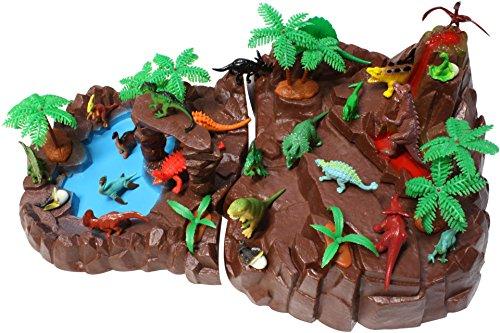 Dinoland SIMBA Nature World mit 20 Dinosaurier Figuren Urzei