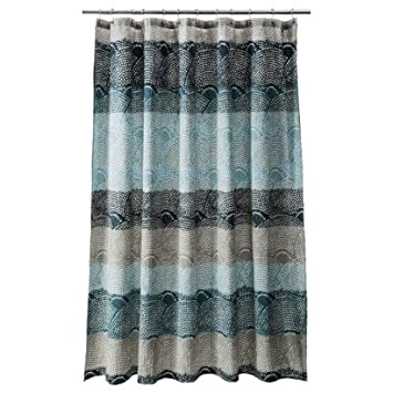 cool shower curtains. threshold scallop dot cool shower curtain curtains