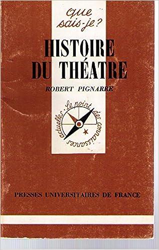 Ebooks gratuits en portugais à télécharger Histoire du théâtre PDF