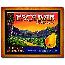 Escabar Fruit Farm Gallery Wrapped Canvas Print