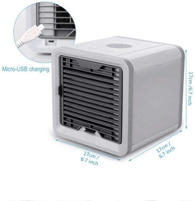 Miniacondicionador de aire portátil; humidificador y purificador ...