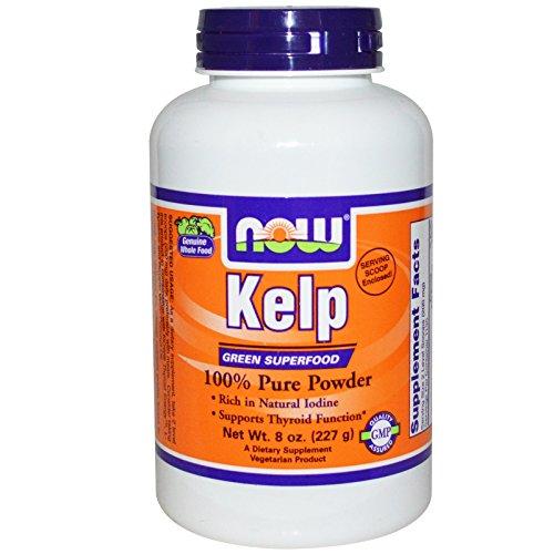 Kelp Powder Norwegian Now Foods 8 oz Powder