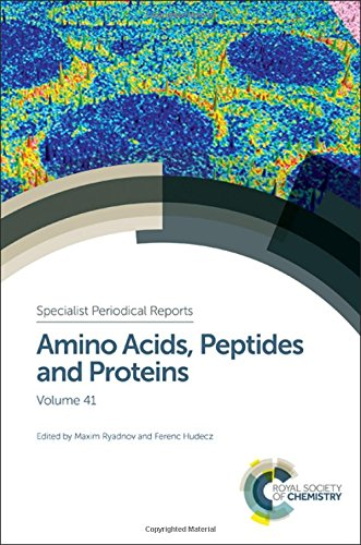 Amino Acids, Peptides and Proteins: Volume 41 (Specialist Periodical Reports)