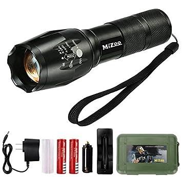 Review MIZOO LED Flashlight Mini