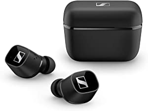 Sennheiser CX 400BT True Wireless Earbuds - Bluetooth in-Ear Headphones for Music and Calls - with Long-Lasting Battery Life and Customizable Touch Controls, Black