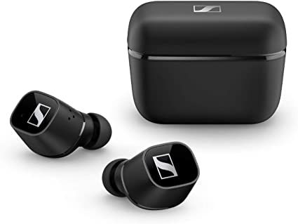 Sennheiser ゼンハイザー Bluetooth 完全ワイヤレスイヤホン CX 400BT True Wireless BLACK, ドイツ本社開発7mmドライバー、LDSアンテナ、Bluetooth 5.1、aptX、AAC、バッテリー持続時間イヤホン本体最大7時間ケース併用最大20時間、CX400TW1 BLACK【国内正規品】