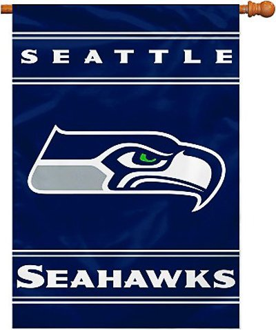 Fremont Die NFL Seattle Seahawks 2-Sided 28-by-40-Inch House Banner - Majestic Sporting Goods