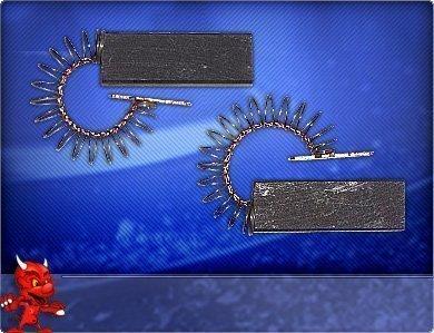 2 Escobillas De Carbón Motor Lavadora para Bosch: Amazon.es ...