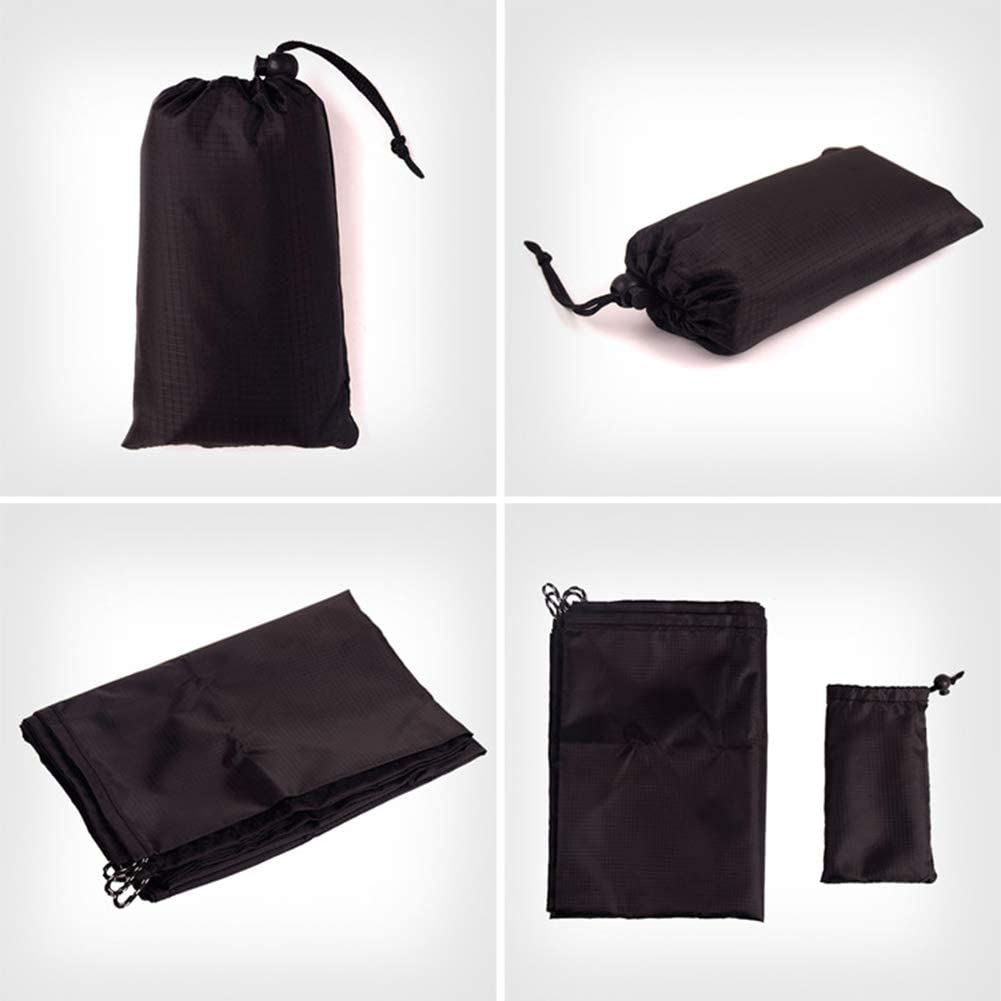 Picnic Blanket with a Storage Bag Waterproof Sand Free Family Mat for Travel Camping Hiking YHUHY Outdoor Beach Blanket Machine Washable Compact Pocket Blanket Music Festival