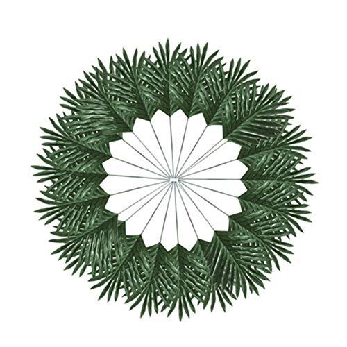 Toyvian Palm Leaf Decor Beautiful Plant Decor for Bedroom Livingroom Diningroom (Green)