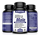 Best Fast-Acting Male Enhancing Pills - #1 Testosterone Booster for Men Increase Size, Drive, Stamina & Endurance - L Arginine, Tongkat, Maca, Ginseng Supplement - Boost Energy, Muscle & Performance