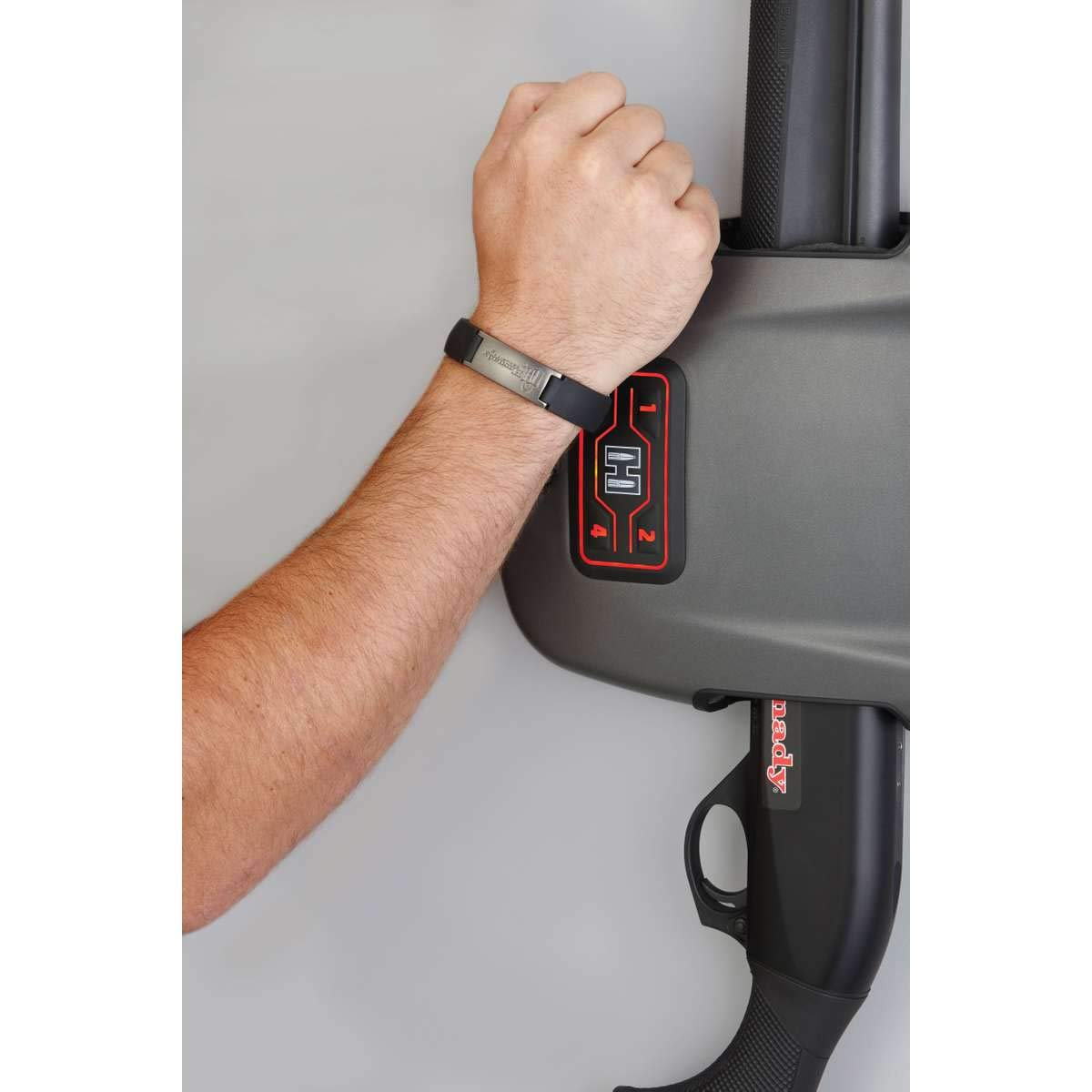 Hornady Rapid Safe Wall Mount for Long Guns - RFID Entry Quick Access Safe For Shotguns and Rifles by Hornady