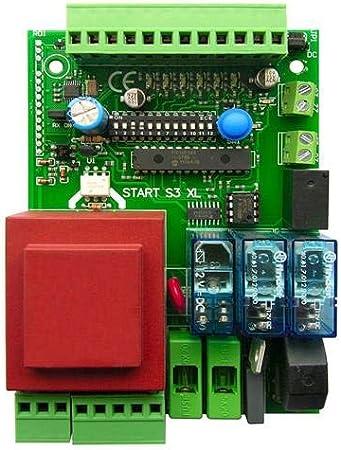 Universal de control de activación platina para puerta corredera o kipptor, compatible con todas las marcas como Came, FAAC, FADINI, Beninca, 230V