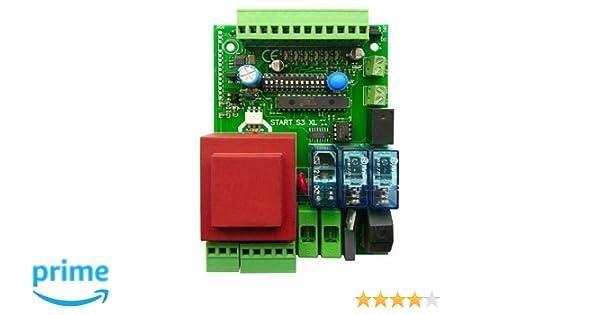 Universal de control de activación platina para puerta corredera o kipptor, compatible con todas las marcas como Came, FAAC, FADINI, Beninca, 230 V