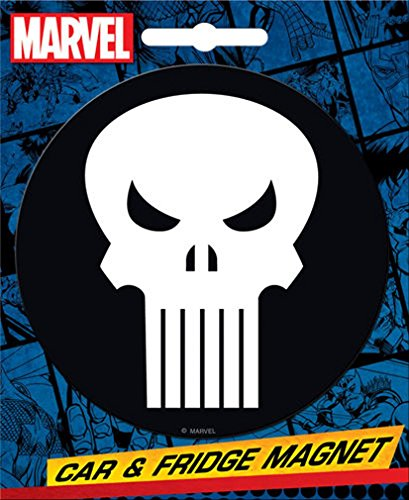 Ata-Boy Marvel Comics Die-Cut Punisher Logo Giant Magnet