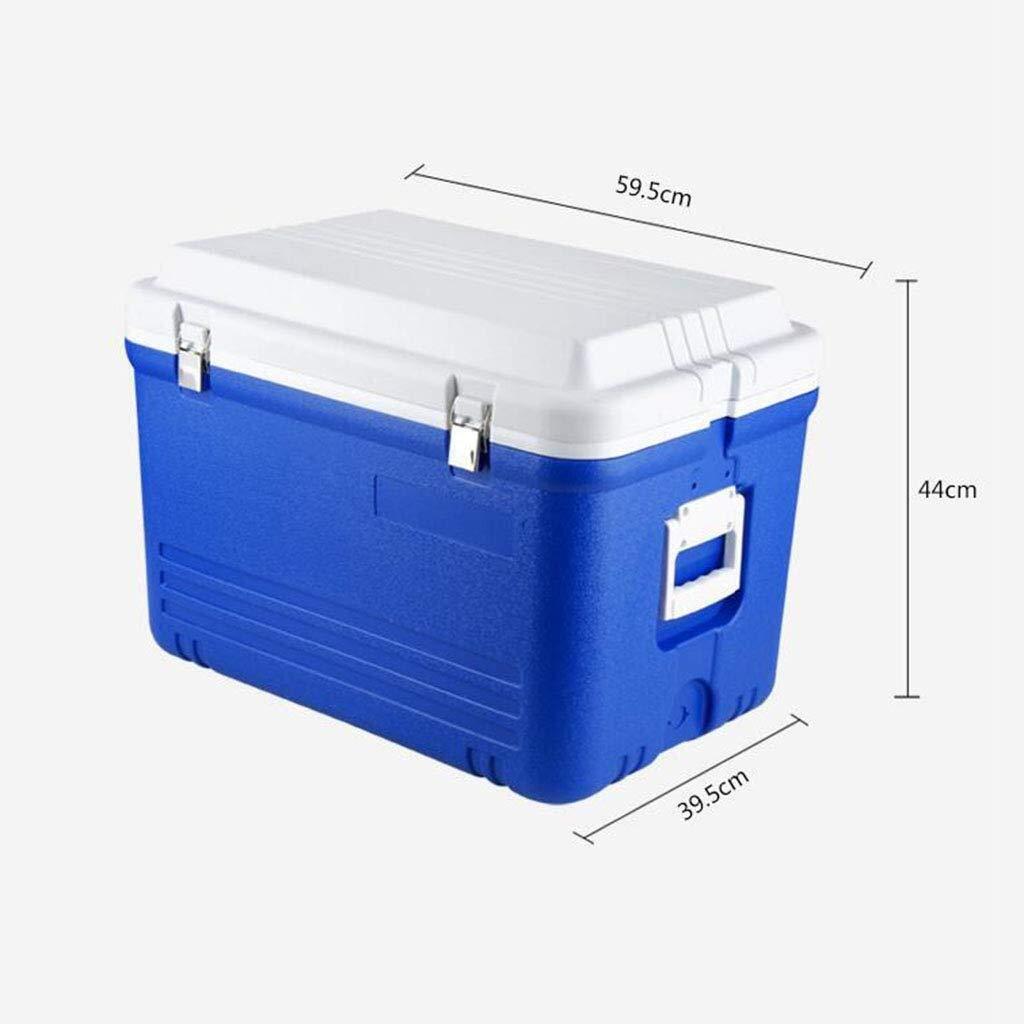Caja fría, caja refrigeradora de 52L o 65L con asa de transporte y ...