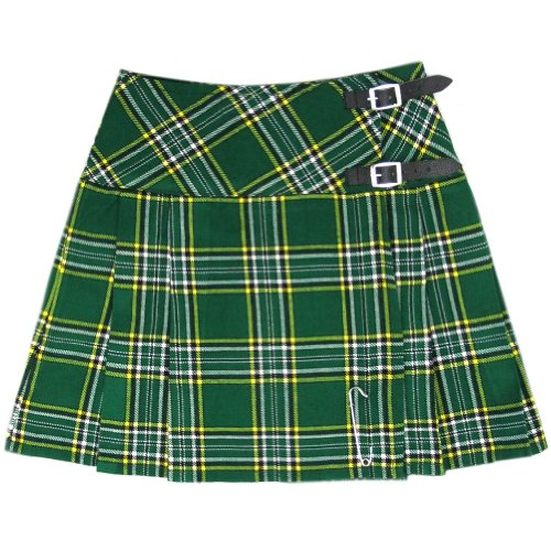 Tartanista Womens 16.5 Inch Scottish Tartan Mini Kilt