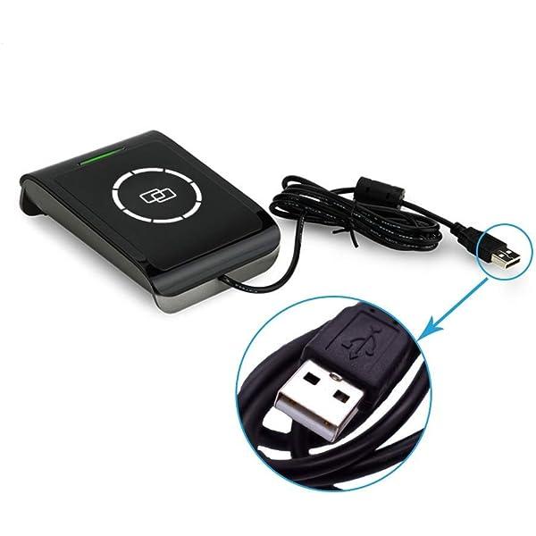 NFC RFID Lector y Escritor Inteligentes sin Contacto 13.56MHZ USB ...