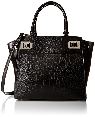 Nine West Gleam Team Lg Satchel, Black