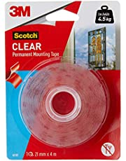 Scotch Heavy Duty Double Sided Mounting Tape, 21 mm x 4 m