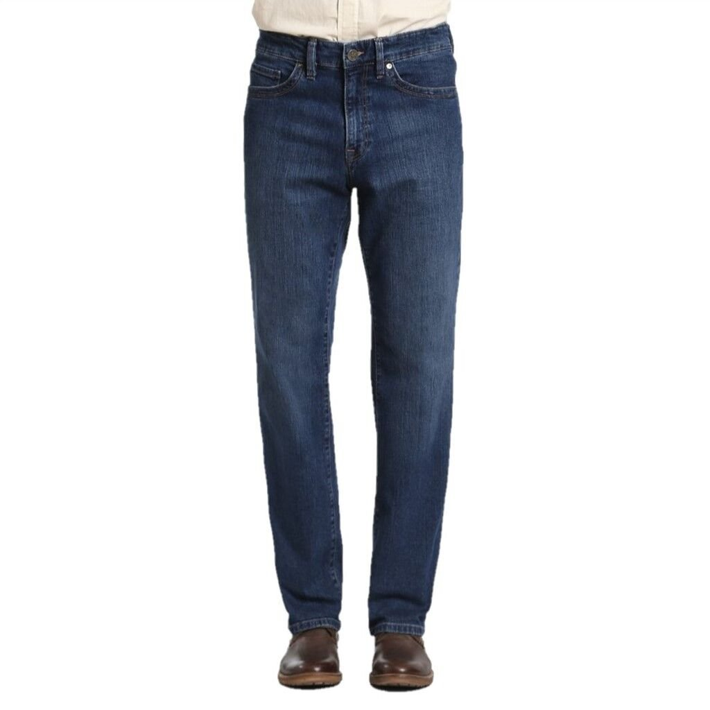 34 Heritage Men's Charisma Relaxed Classic Denim, Mid Comfort 34 x 32