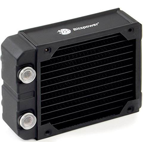 Bits Power Leviathan Xtreme 120 G 1/4 inch x 4 Thread Radiator (BP-NLX120-F4PB) by Bits Power (Image #1)