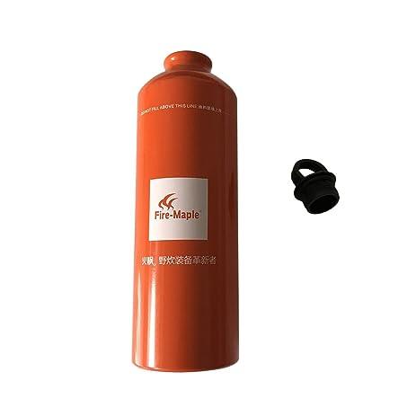 Outdoor Fuel Bottle Aluminum Oil Bottle 750ml Portable Storage Bottle C&ing Gas Tank Petrol Diesel Kerosene  sc 1 st  Amazon.com & Amazon.com : Outdoor Fuel Bottle Aluminum Oil Bottle 750ml Portable ...