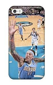 Defender Case For Iphone 5/5s, Denver Nuggets Nba Basketball (20) Pattern hjbrhga1544