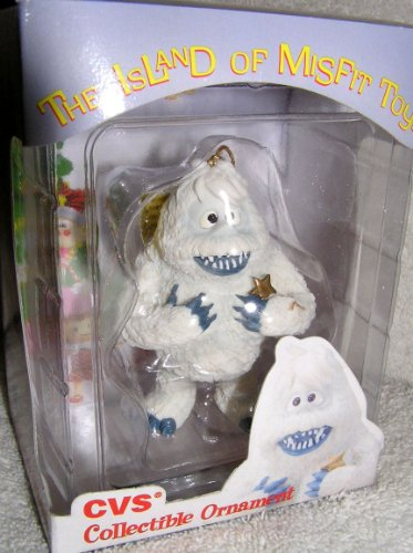 1999 CVS Limited Edition Bumble Abominable Snowman Christmas Ornament from Rudolph and the Island of Misfit Toys by (1999 Snowman)
