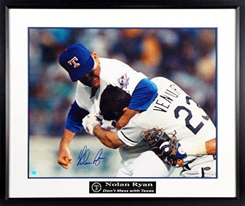 Texas Rangers Nolan Ryan Autographed