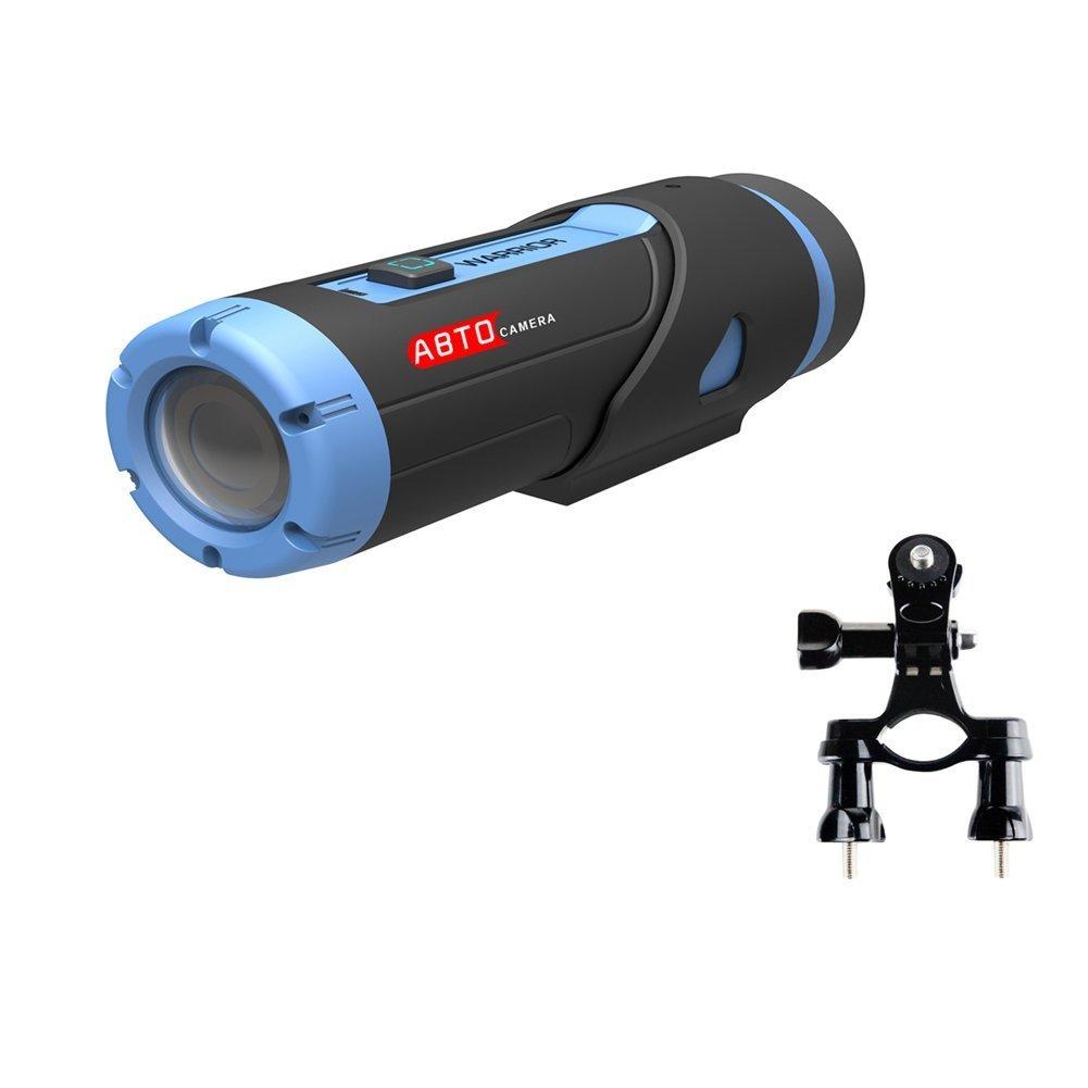 SZABTO Sport-Action-Kamera Krieger Cam 2.13mp Star-Sensor Wi-Fi Hd 1080p Kamera mit 3400mah Lithium-Ionen-Akku und 32GB Micro SD-Karte mit G-Sensor eingebaute Motorrad Fahrrad Auto Sicherheit action camera