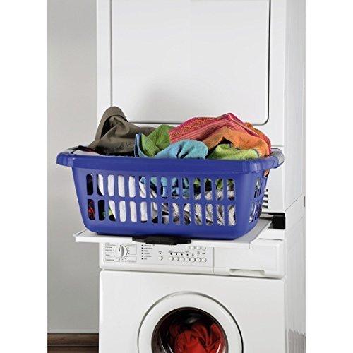 Zwischenbaurahmen für Waschmaschine auf Trockner z.B. AEG Bosch NEU jetzt mit Griffleiste deutlich besseres Handling von Conny Clever®