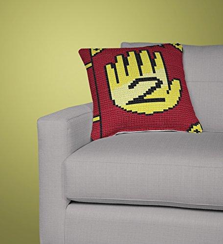 Gravity Falls Journal 2 Crochet Decorative Pillow