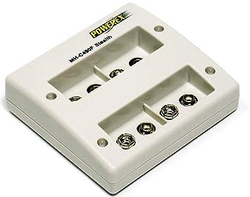 - Powerex Mh-C490F - Cargador Microprocesador, Específico Para Baterías Recargables De Nimh Del Tipo 9V