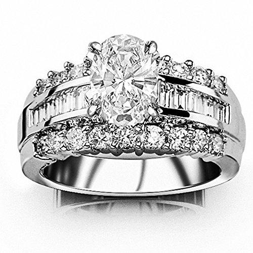 0.75 Ct Oval Diamond - 3