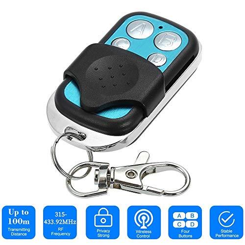 WildCard India Universal Car Alarm Garage Door Remote Garage Remote Controller Gate Opener Duplicator Clone Code Scanner Security Alarm for Garage Gate Door Remote Control Key
