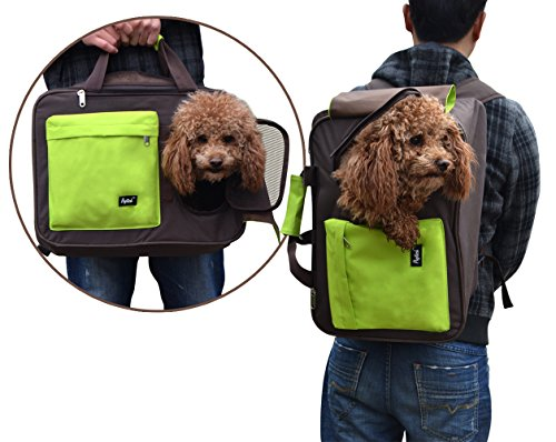 Multiple Pet Travel Carrier for Small Dogs Cats Airline Approved Puppy Backpack