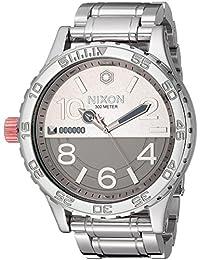 Nixon Star Wars 51-30 SW 51mm Watch - Phasma Silver